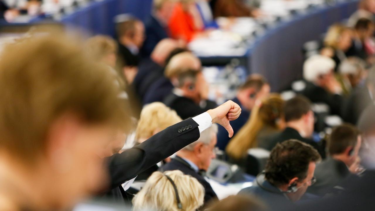 Det skiljde bara 40 röster mellan dem som ville skicka tillbaka lagförslaget och dem som ville inleda förhandlingar med medlemsländernas om lagens slutliga utformning. Arkivbild.
