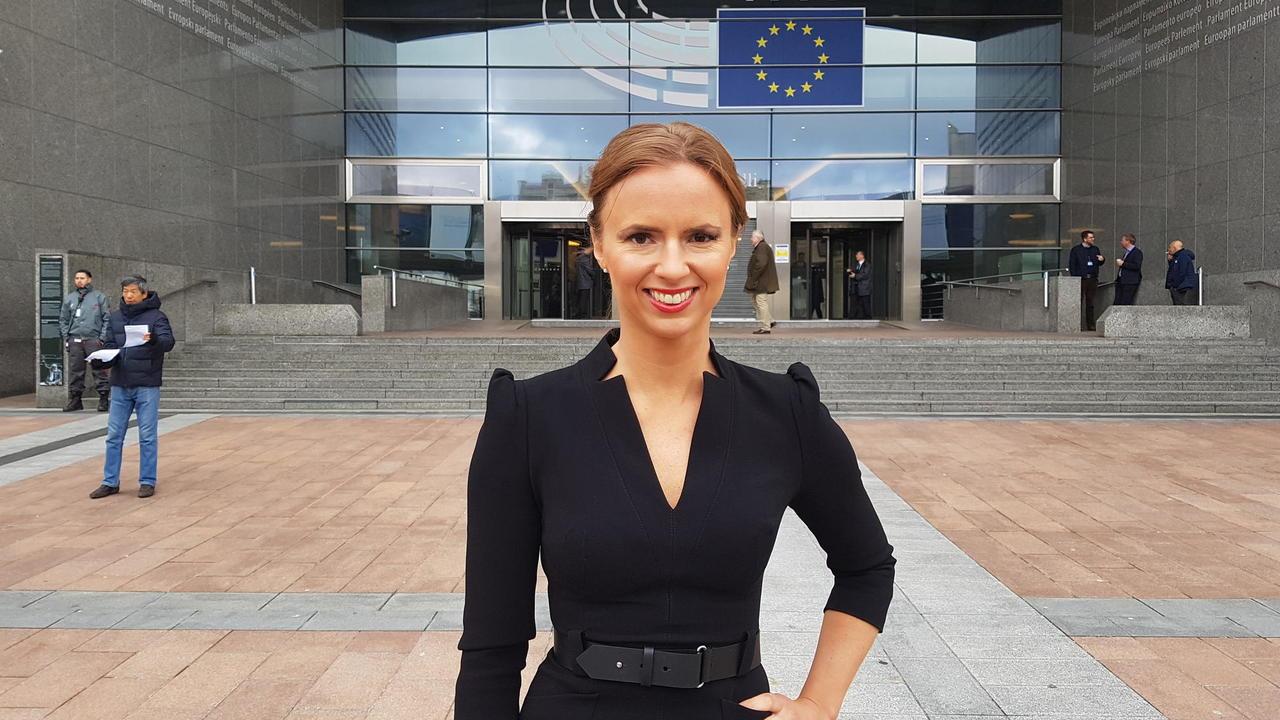 Kristdemokraternas toppkandidat är redo för EU där hon vill ta jobba med lagstiftande frågor och EU:s framtid.