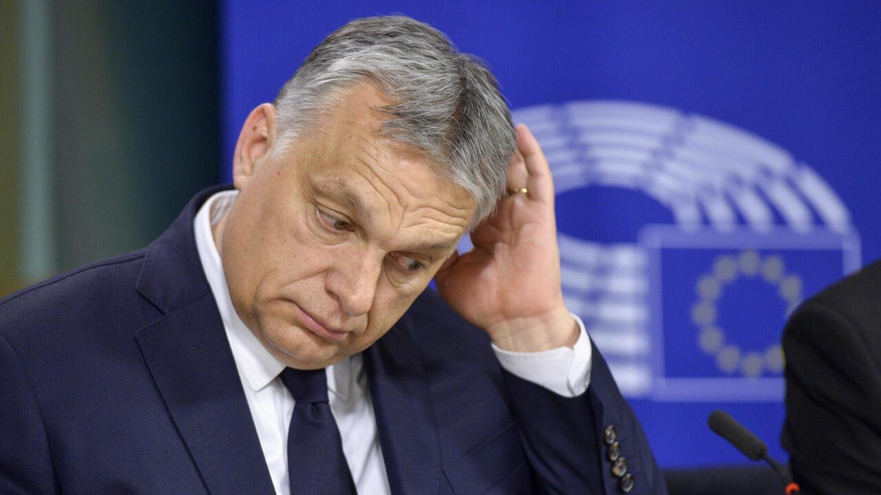 Pressfriheten i Ungern under premiärminister Viktor Orbán har enligt Reportrar utan gränser stadigt försämrats. Arkivbild.