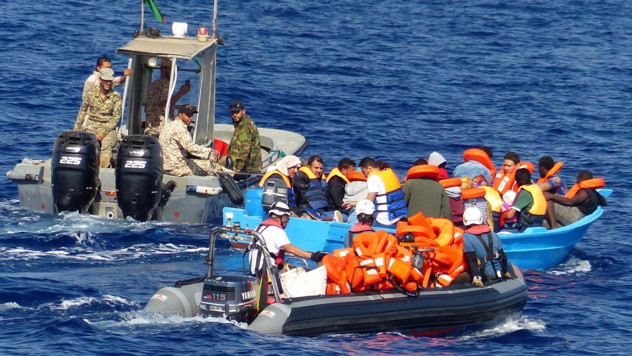 Antalet migranter som anlände till Italien via Medelhavet var under fjolåret större än via Grekland. Arkivbild