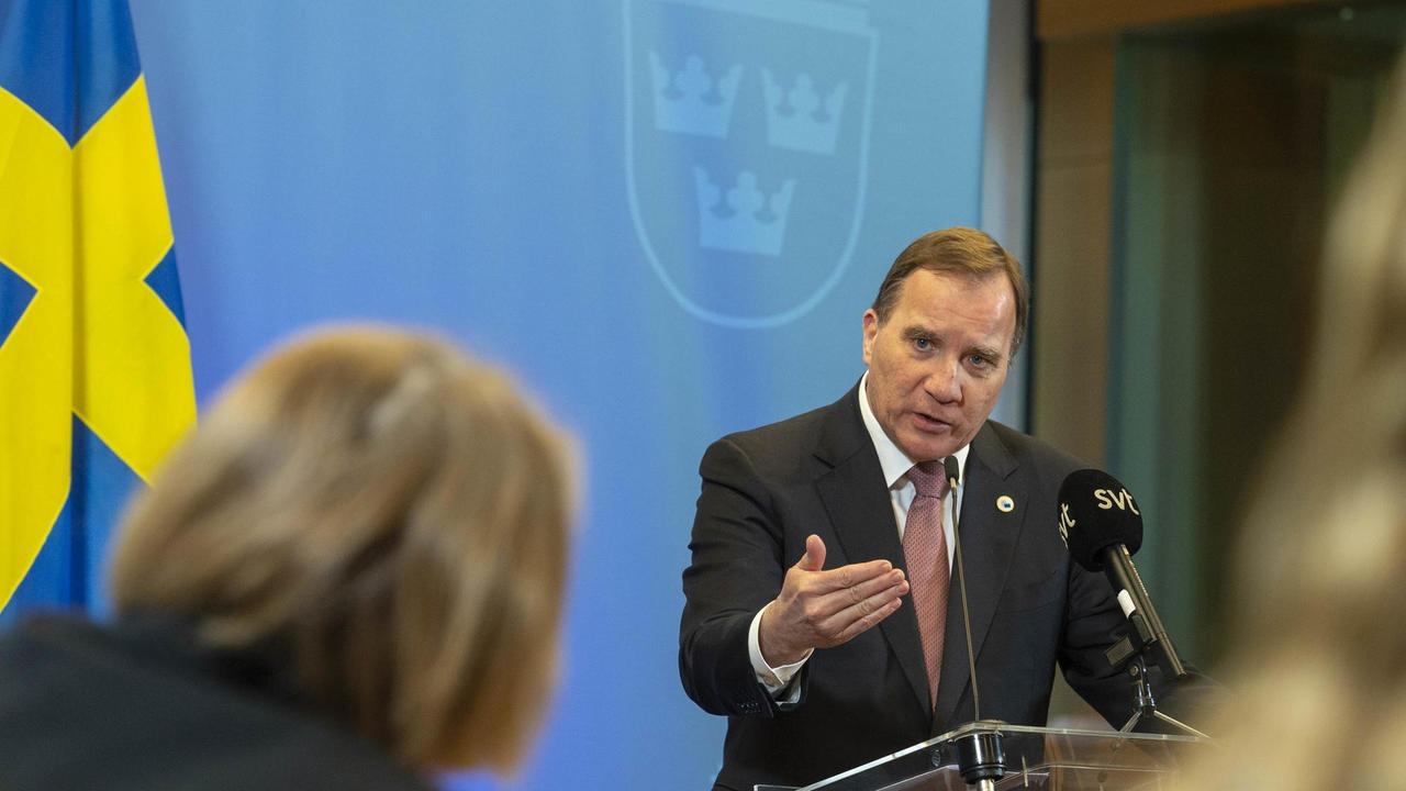Stefan Löfven efter EU-toppmötet där han betonade att EU ska undvika protektionism.