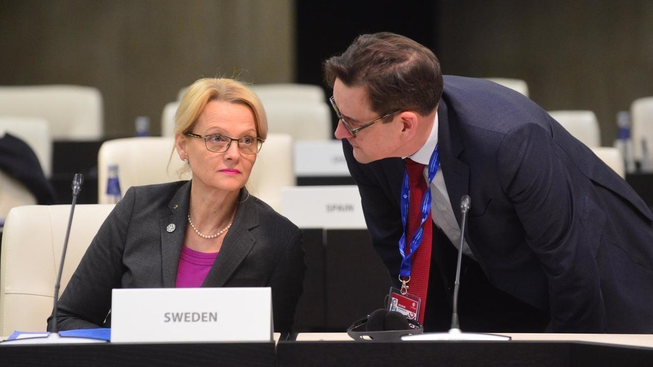 Migrationsminister Heléne Fritzon (S).