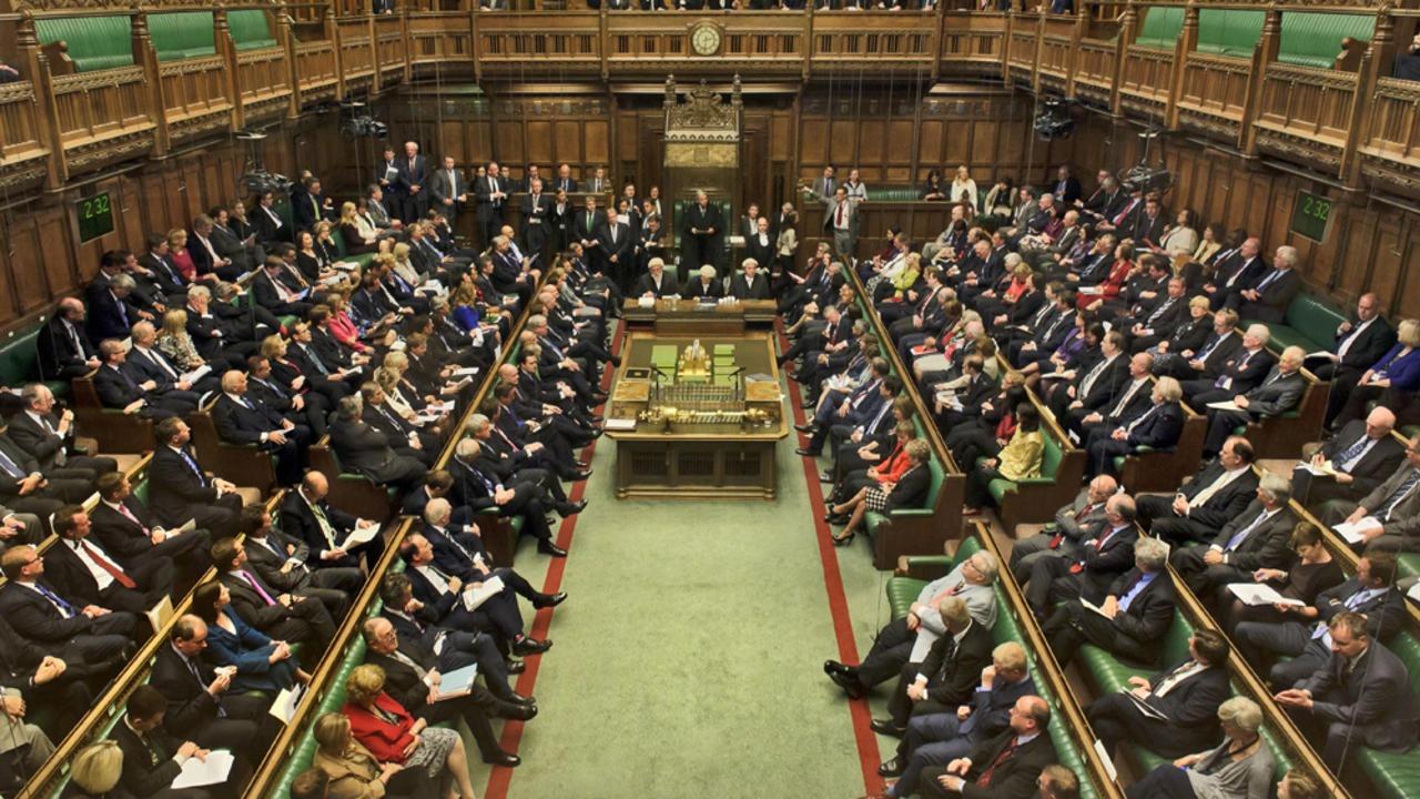 Inget av de åtta alternativen fick stöd vid onsdagens sonderingsomröstningar i det brittiska parlamentets underhus. Arkivbild.