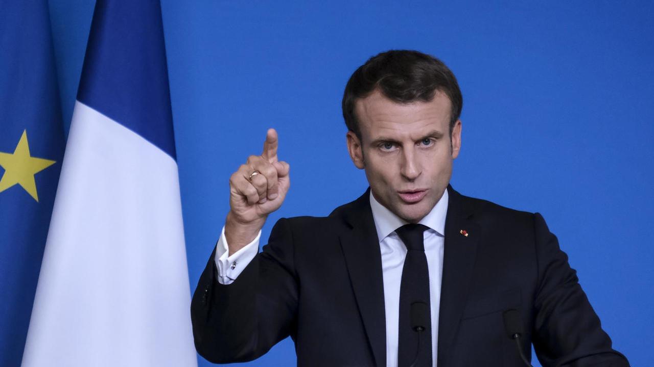 Frankrikes president Emmanuel Macron vill reformera EU:s utvidgning. Arkivbild.