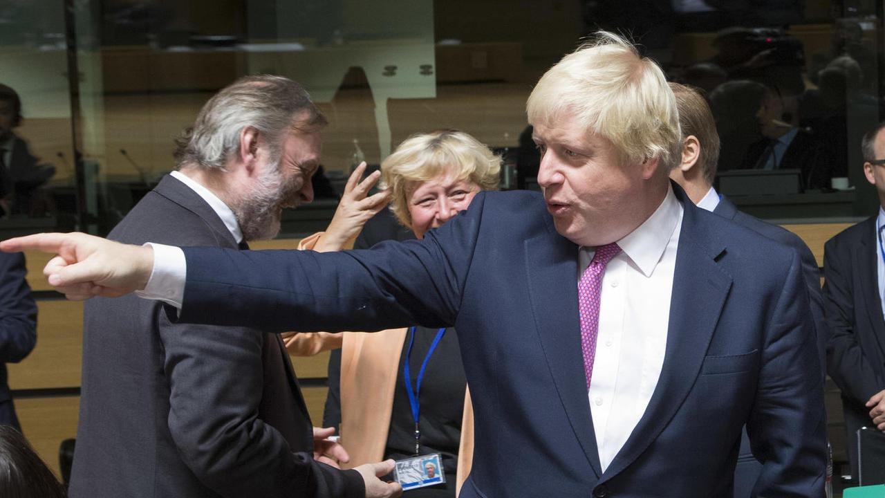 Premiärminister Boris Johnson vill undvika att parlamenet stoppar hans brexitplaner genom att stänga ned det. Arkivbild.