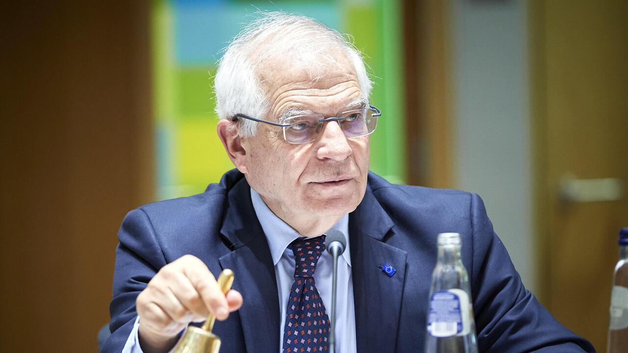 EU:s utrikeschef Josep Borrell.