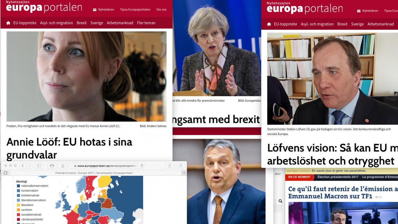 Europaportalens praktik i Bryssel en unik chans för journaliststuderande att få en inblick i internationell politik och svensk EU-politik.