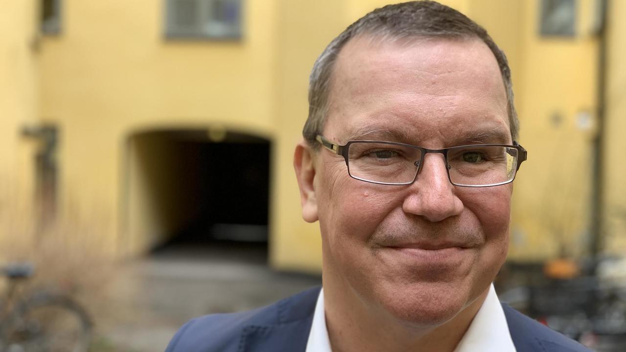 Erik Bergkvist kandiderar för S i EU-valet.