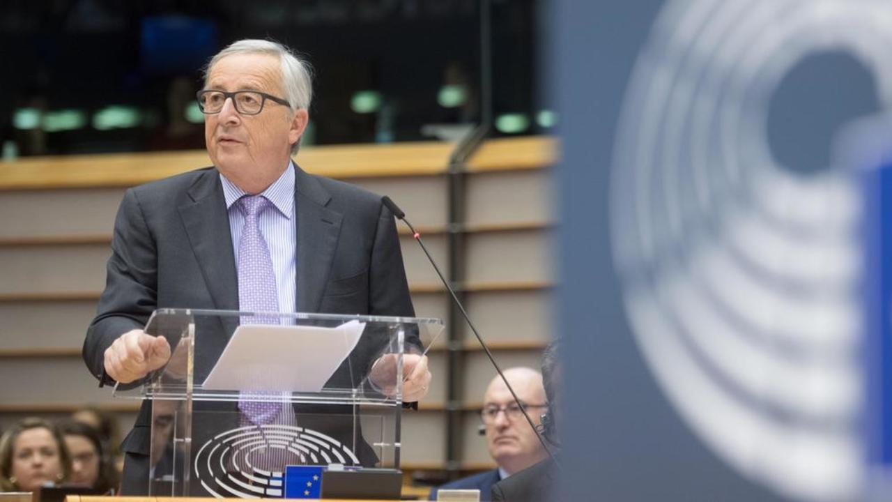 Kommissionens ordförande Jean-Claude Juncker beskriver EU:s kommande budget som rättvis.