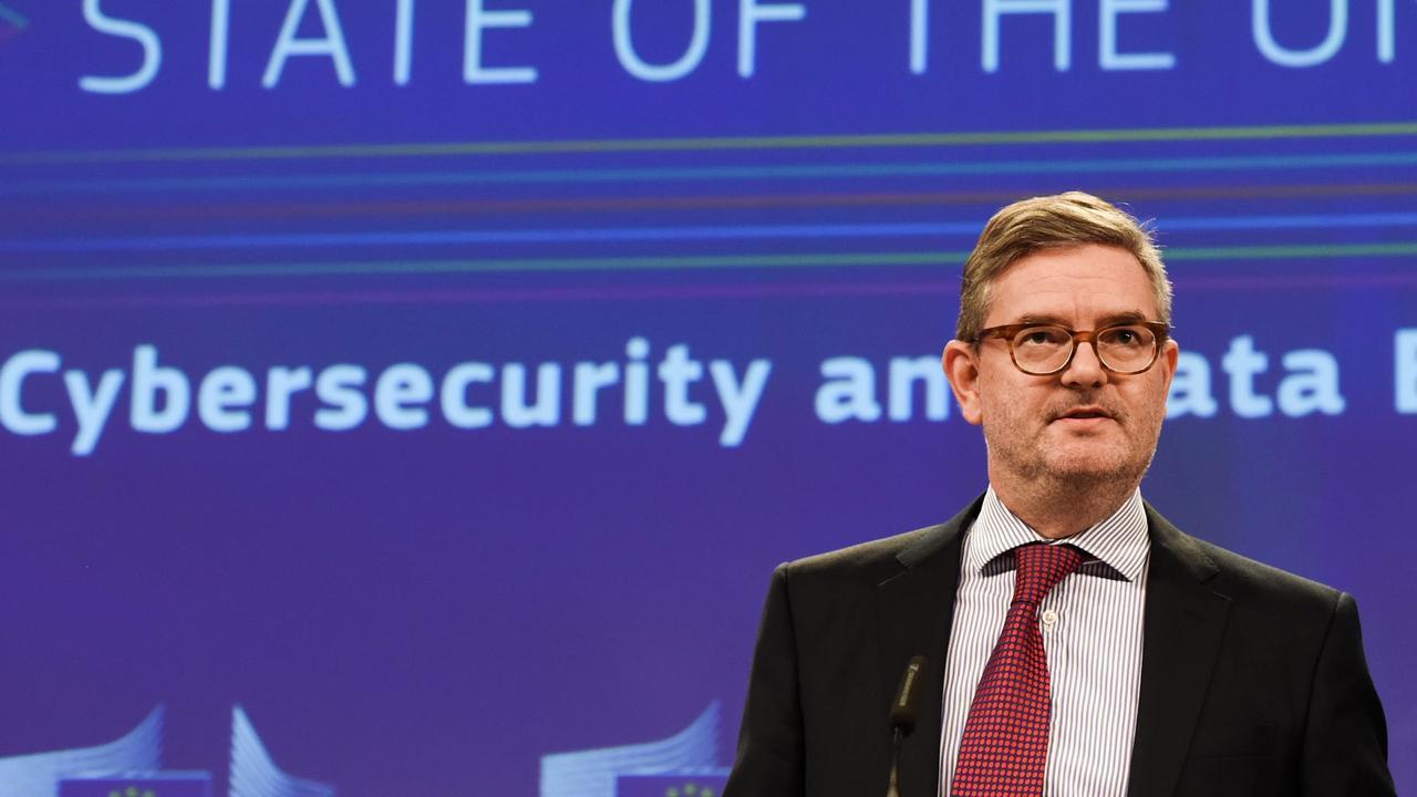 EU:s IT-säkerhetskommissionär Julian King.