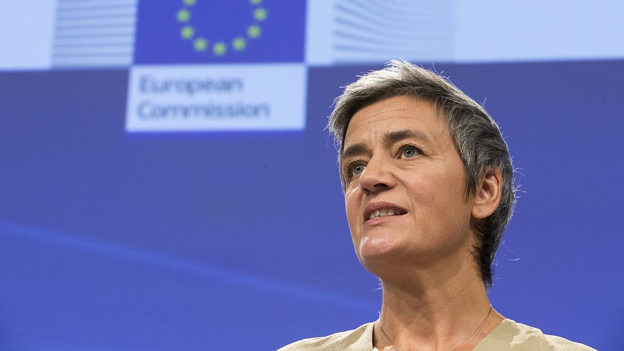 EU:s danska liberala konkurrenskommissionär Margrethe Vestager.