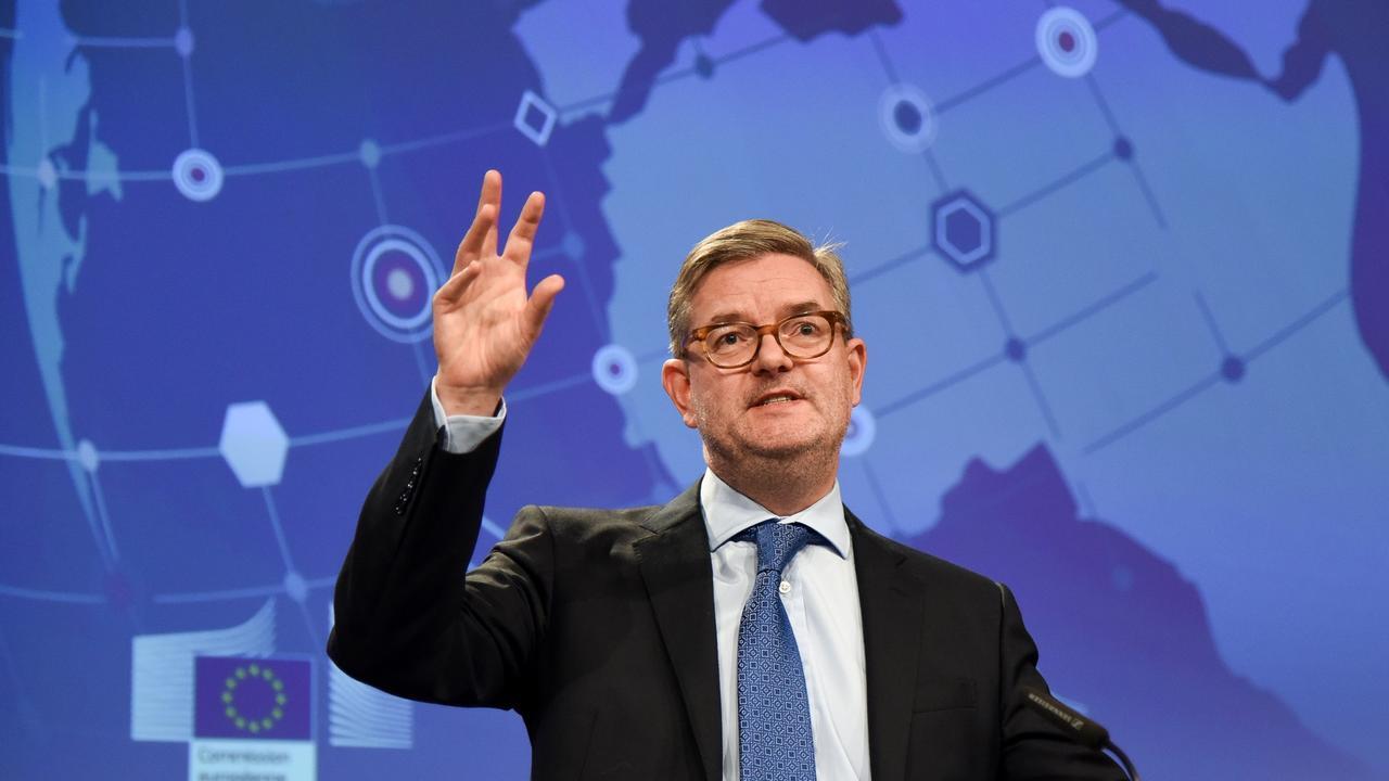 EU:s säkerhetskommissionär Julian King. Arkivbild.