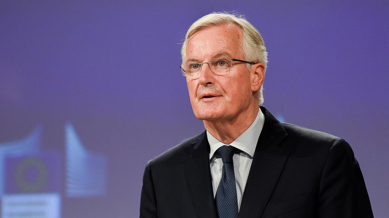 EU:s brexitförhandlare Michel Barnier. Arkivbild.