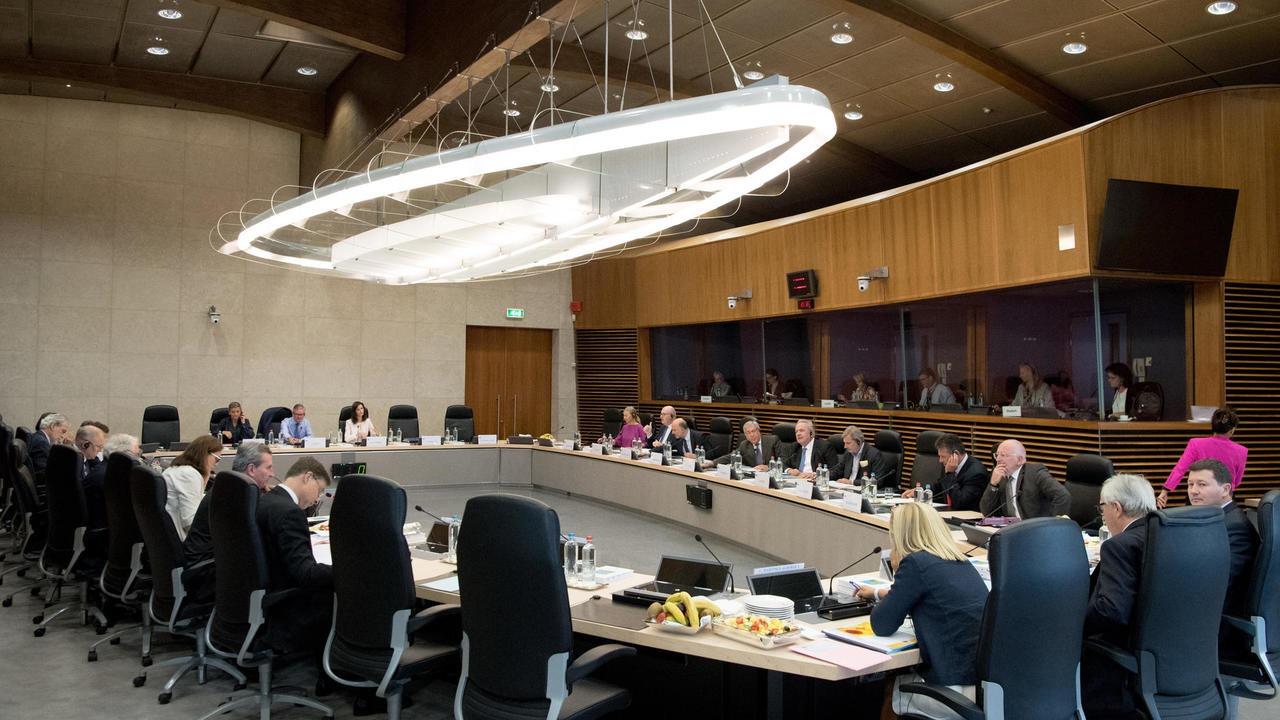 EU-kommissionärerna träffas vanligtvis en gång i vecka i det så kallade kollegiet för att diskutera aktuella frågor och kommande lagförslag. Akrivbild.