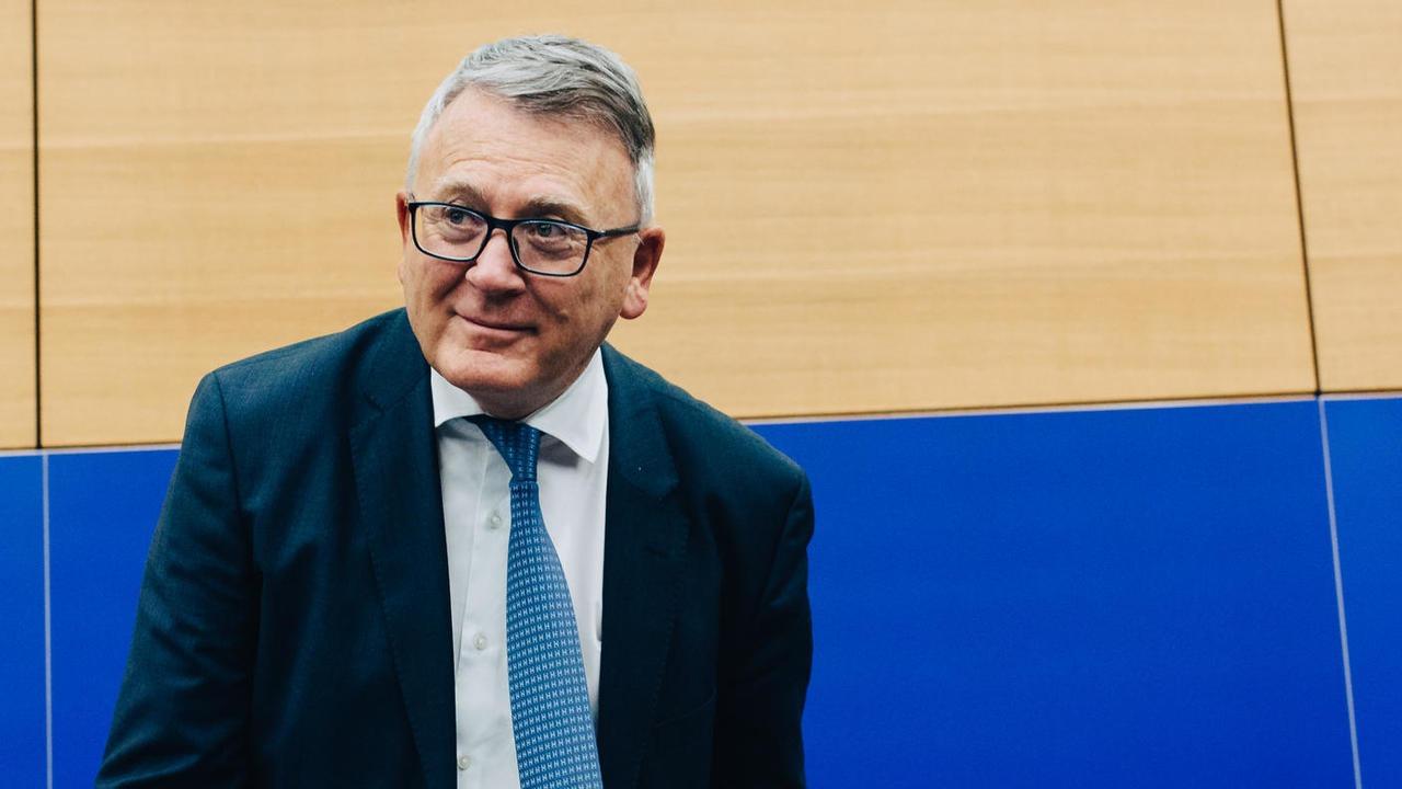 EU:s sysselsättningskommissionär Nicolas Schmit, en socialdemokratisk luxemburgare. Arkivbild.