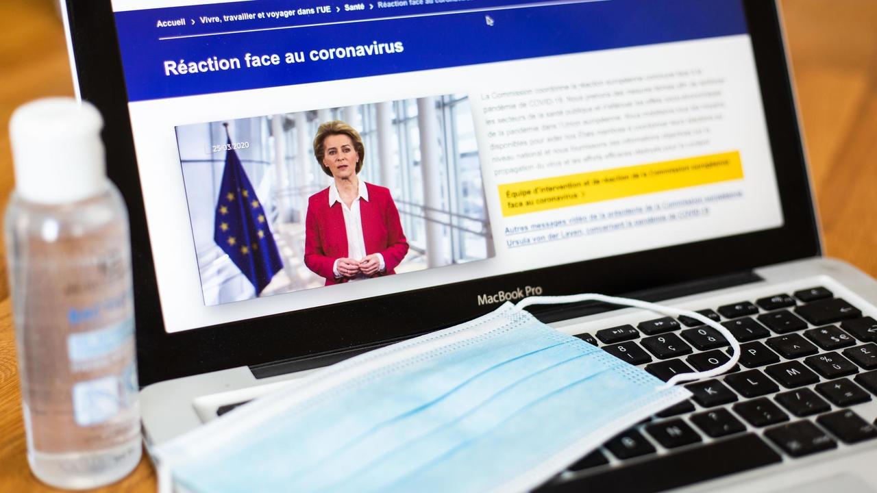 EU:s åtgärder mot coronaviruset handlar främst om att begränsa spridningen och de negativa ekonomiska konsekvenserna. Arkivbild