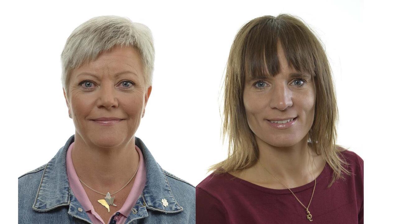 Riksdagsledamöterna Annika Qarlsson (C) och Jessika Roswall (M) sitter i EU-nämnden.