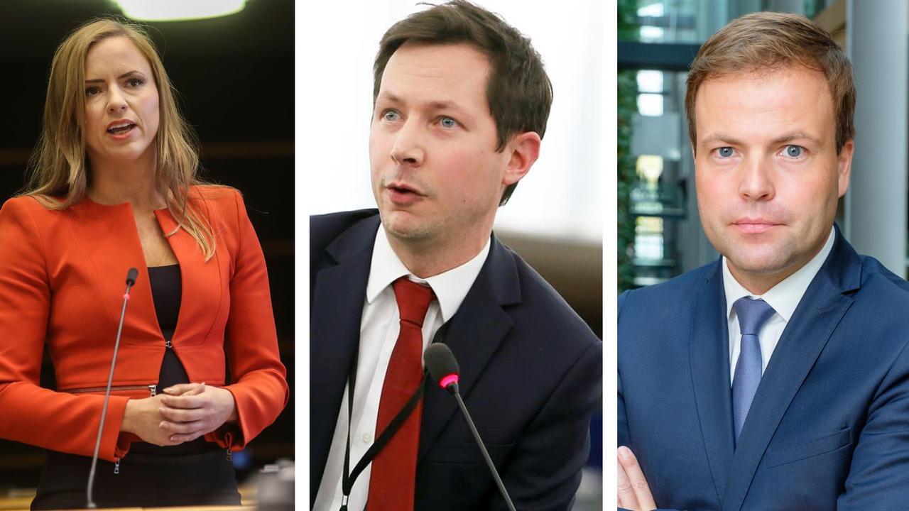 Europaparlamentarikerna Sara Skyttedal (KD), François-Xavier Bellamy Les Républicains och Sven Simon CDU vill se en nystart för EU.