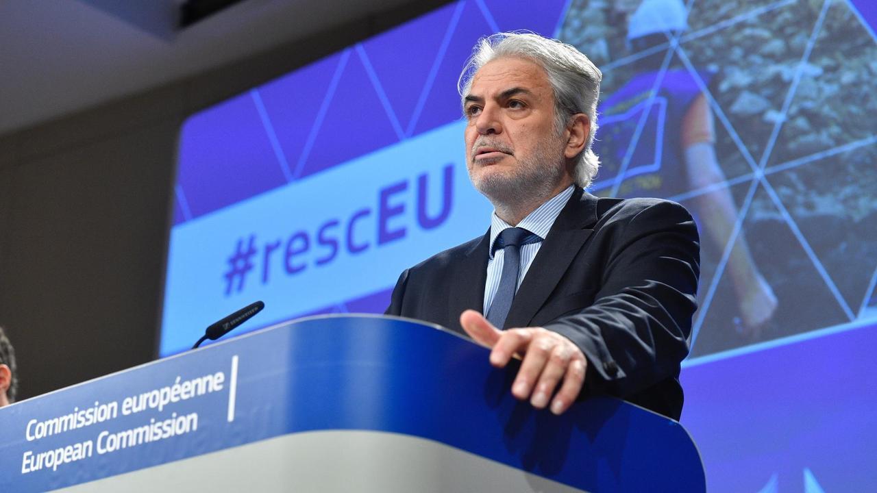 Christos Stylianides, EU-kommissionär med ansvar för krishantering vill se ökat EU-stöd vid naturkatastrofer.