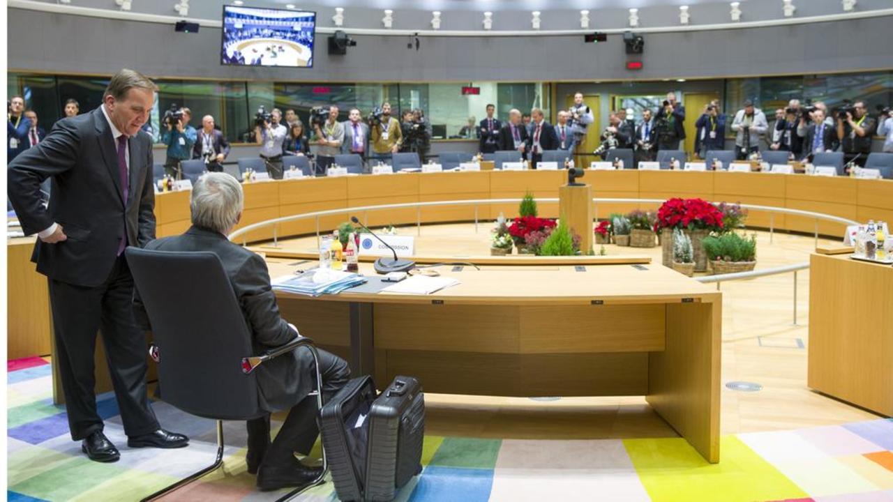 Statsminister Stefan Löfven (S) och EU-kommissionens ordförande Jean-Claude Juncker kan båda tänka sig att rösta för att komma framåt i frågan om ett framtida asylsystem.