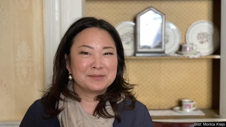 Europaparlamentariker Jessica Polfjärd (M).