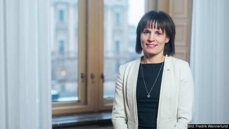 Jessika Roswall är Europapolitisk talesperson för Moderaterna. Arkivbild.