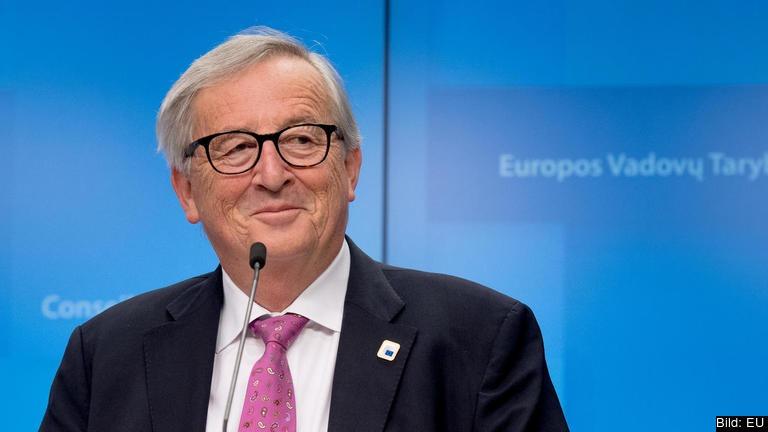 """EU-kommissionens ordförande Jean-Claude Juncker har ingen """"erotisk relation till reservlösningen"""". Arkivbild."""