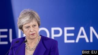 Den brittiska premiärministern Theresa May förlorade för andra gången en omröstning i underhuset om sitt utträdesavtal med EU. Arkivbild.