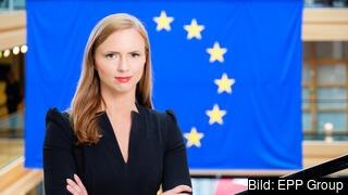 Europaparlamentariker Sara Skyttedal (KD).