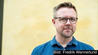Europaparlamentariker Fredrick Federley (C).