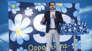 Jimmie Åkesson, Sverigedemokraternas partiledare. Arkivbild.