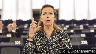 Cecilia Wikström ansvarar för att hitta en gemensam ståndpunkt i EU-parlamentet om den nya Dublinförordningen. Arkivbild.
