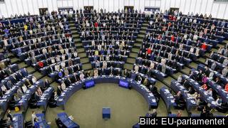 73 brittiska ledamöter försvinner från EU-parlamentet efter nästa Europaval 2019. Arkivbild.