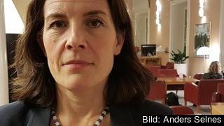 Karin Enström riksdagsledamot och gruppledare för Moderaterna i EU-nämnden.