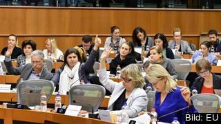 Juri utskottet röstar om visselblåsare.