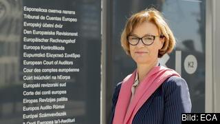 Sveriges ledamot i Europeiska revisionsrätten Eva Lindström. Arkivbild.