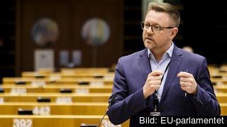 Centerpartiets EU-parlamentariker Fredrick Federley. Arkivbild.