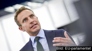 Moderaten Tomas Tobé i Europaparlamentet.