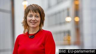 Vänsterpartiets EU-parlamentariker Malin Björk. Arkivbild.