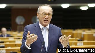 Den österrikiske kristdemokratiske EU-parlamentarikern Othmar Karas. Arkivbild.