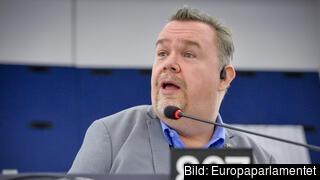 Europaparlamentariker David Lega (KD). Arkivbild.