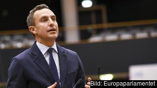 Europaparlamentariker Tomas Tobé (M).