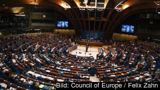 Europarådets församling håller plenarmöte. Arkivbild.