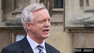 David Davis blir minister med ansvar för förhandlingarna om att ta Storbritannien ur EU. Arkivbild.