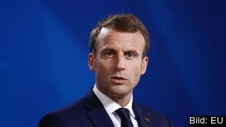 Det hör till ovanligheterna att en EU-ledare vänder sig direkt till medborgare i andra medlemsländer som den franske presidenten Emmanuel Macron nu gör. Arkivbild.