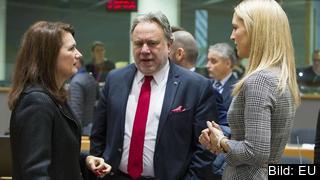 EU-minister Ann Linde diskuterar i veckan brexitvillkoren med George Katrougalos, Greklands EU-minister och Helen MCEntee, Irlands EU-minister.