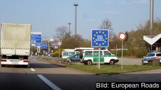 Tyskland är ett av de Schengenländer om infört gränskontroller. Arkivbild.