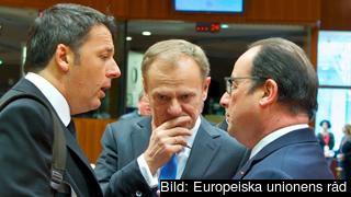 Europeiska rådets ordförande Donald Tusk har under den senaste veckan försökt sy ihop den preliminära plan som Turkiet och EU nådde 7 mars. Arkivbild.