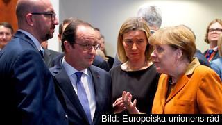 Stats- och regeringscheferna vill själva nominera kandidaten till nästa ordförande för EU-kommission. Arkivbild.