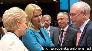 Litauens Dalia Grybauskaitė säger nej till Italiens Federica Mogherini, Danmarks Helle Thorning-Schmidt säger nej till att ta över efter Herman Van Rompuy som nu måste fortsätta samråden med huvudstäderna för att hitta sin efterträdare.